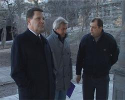 Одесса убрана после съемок фильма Михалкова
