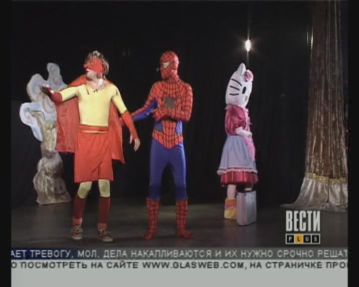 Новогоднее представление в Доме клоунов
