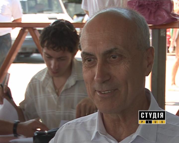 Василий Назаренко. Руководитель союза организаций инвалидов Украины.