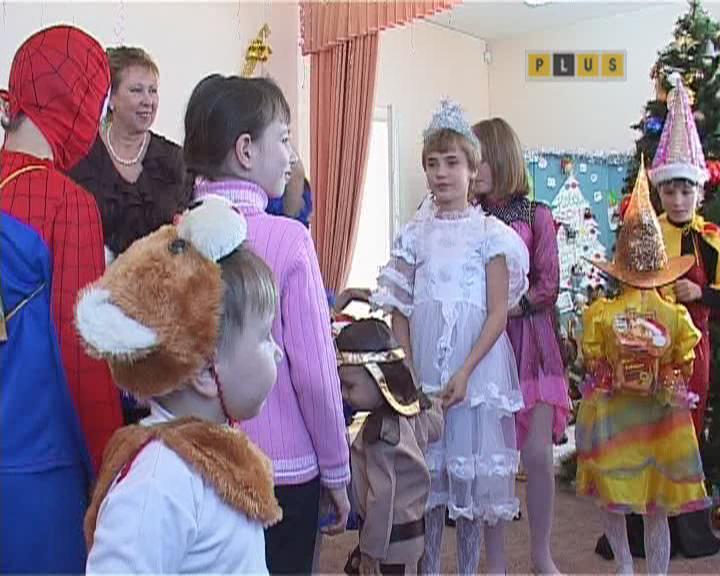 Новый Год в  детском приюте