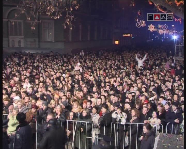 Новогодний концерт 2006//часть 16