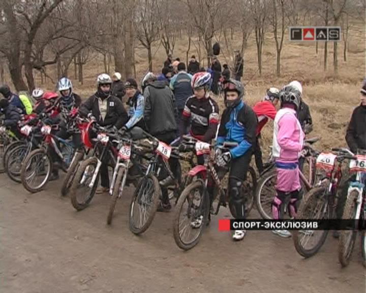 Зимний открытый чемпионат Одессы по горному велоспорту