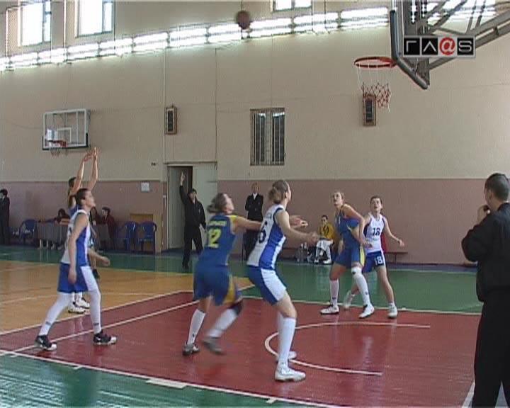Женский баскетбол. Победа за одесситками