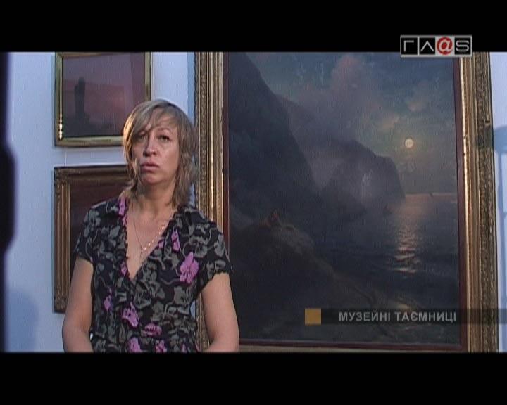 Известный маринист в Одессе