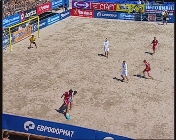 Новая Эра — Кремень / Пляжный футбол — 2007 / Ильичевск