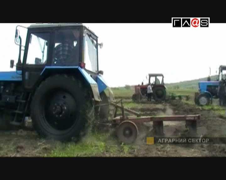Юные трактористы