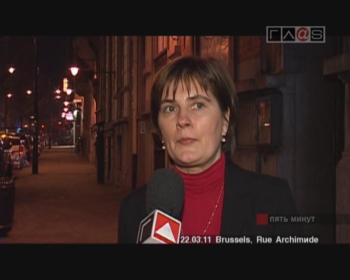Визит Одесской делегации в ЕвроПарламент. Интервью с Мариной Кулисевич