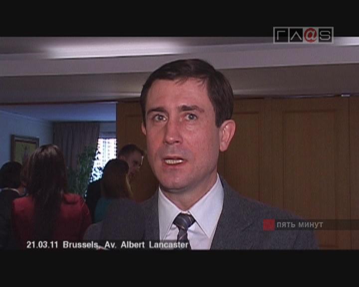 Интервью с советником по экономическим вопросам Посла Украины Александром Громовым.
