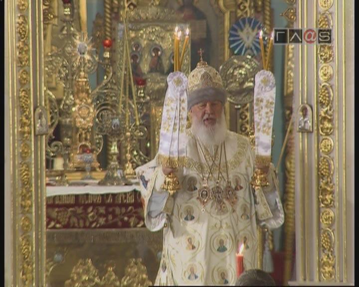 Прямая трансляция Пасхального Богослужения // часть 5