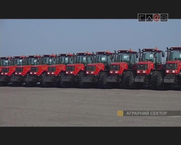 Новые трактора для Одесских аграриев