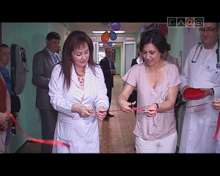Обновленное отделение педиатрии