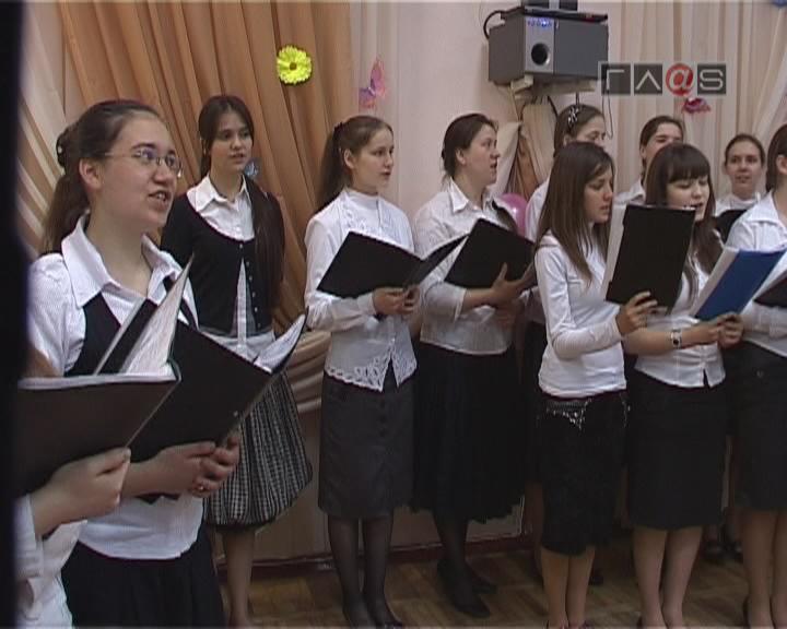 Хор регентского отделения Одесской духовной семинарии