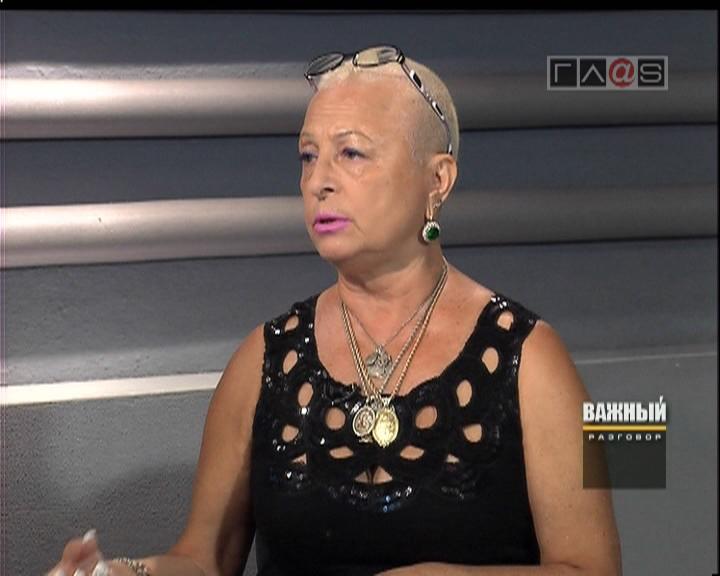 Галина Зицер. Директор Одесской областной филармонии.