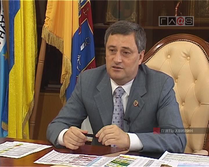 Председатель Одесской областной государственной администрации Эдуард Леонидович Матвийчук.