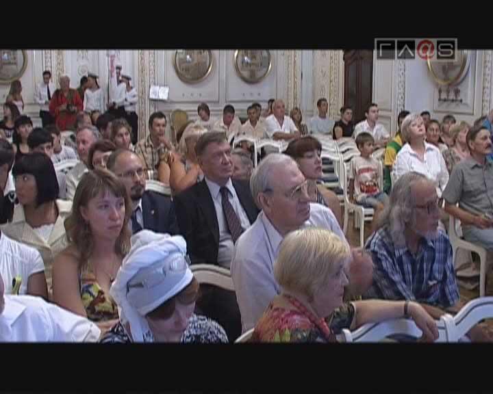 В Одессе открылся второй международный гриновский фестиваль «Алые паруса»
