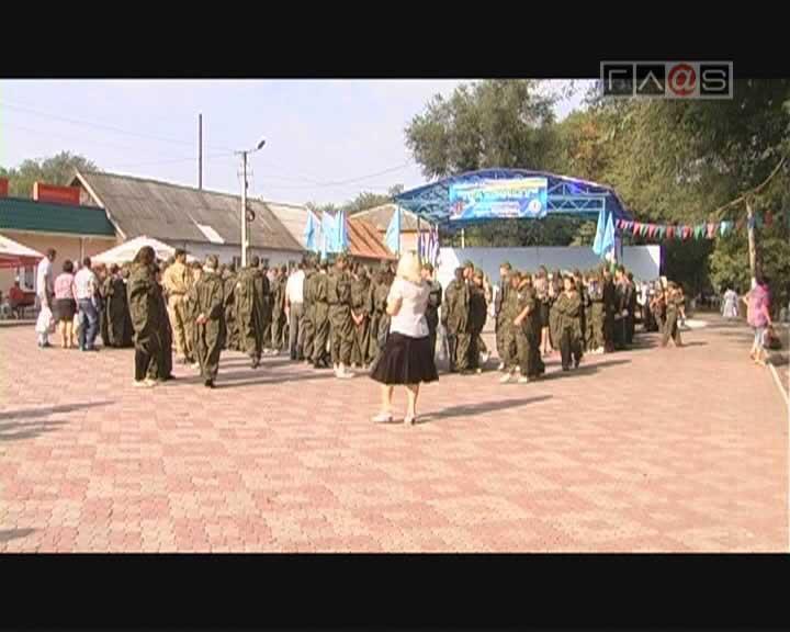 Третий этап военно-патриотического фестиваля «Патриот»