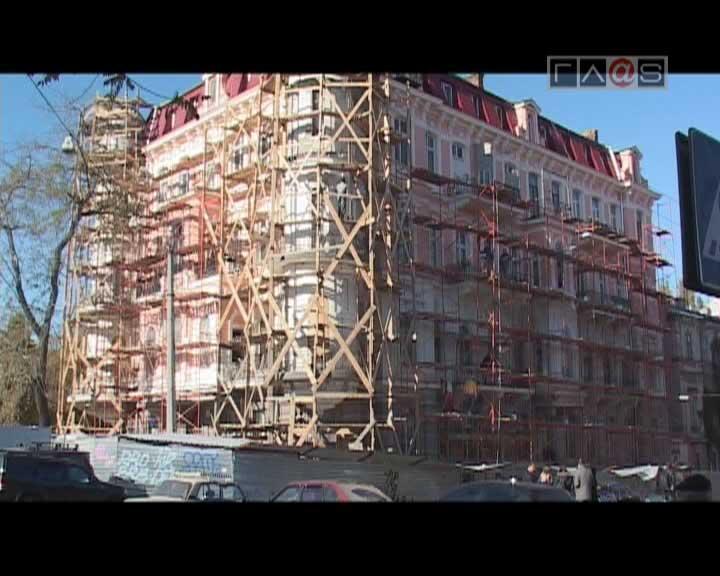 Одесские фасады преображаются