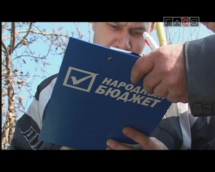 Анкетирование в рамках проекта «Народный бюджет»