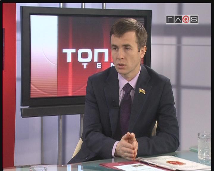 Отчет перед избирателями секретаря Одесского  горсовета