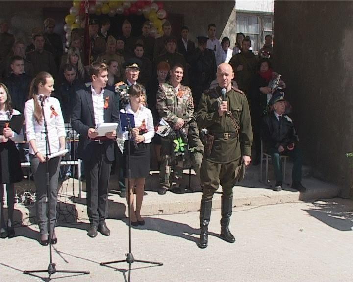 Открытие двух школьных музеев Боевой славы