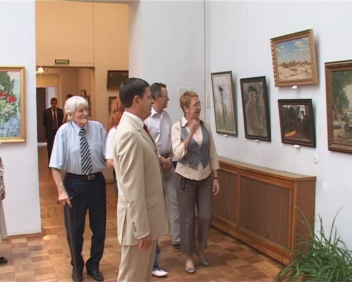 Выставка работ известного Одесского художника