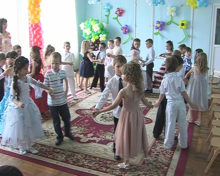 Выпускной бал в детском саду № 106