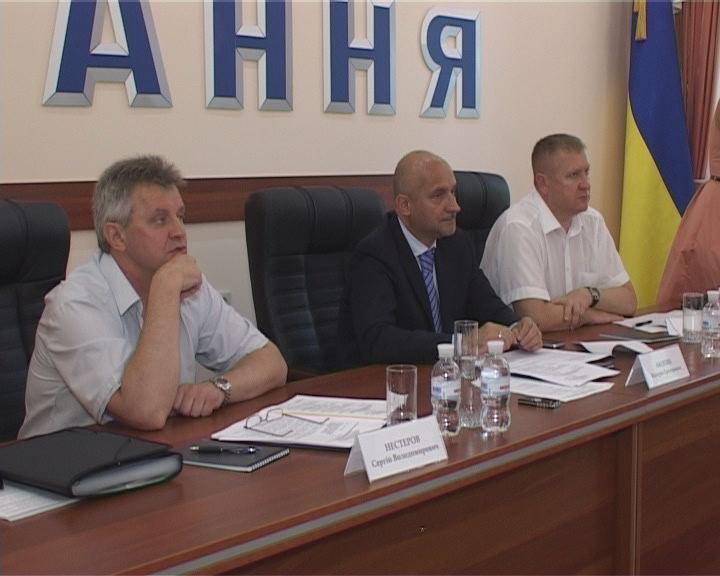 Высшее руководство Фонда соцстрахования от несчастных случаев на производстве в Одессе