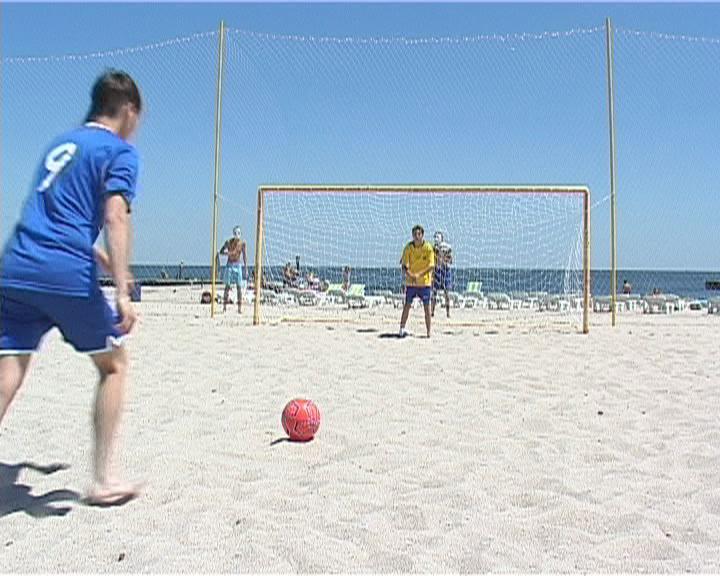 В Одессе стартовал сезон пляжных видов спорта