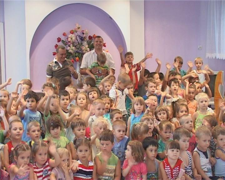 Воспитанники детского сада встретили лето праздничным концертом