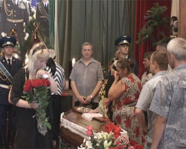 Одесситы прощались с погибшими пограничниками