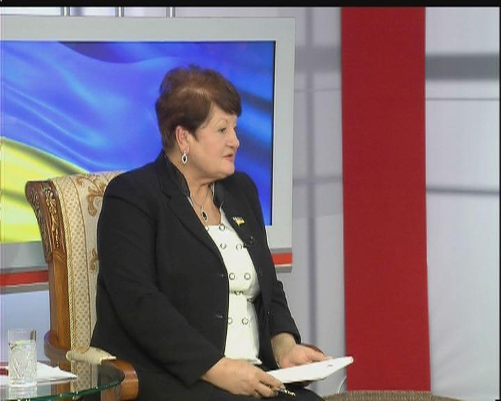 Раїса Сорочинська-Кириленко //моя политика //07 декабря 2009