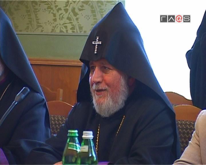 Визит Католикоса всех армян в Украину