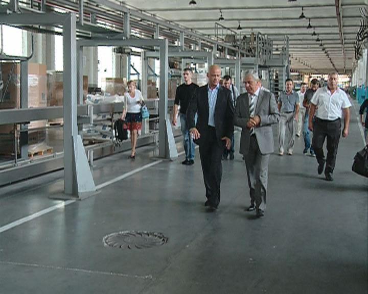 Встреча на Одесском кабельном заводе