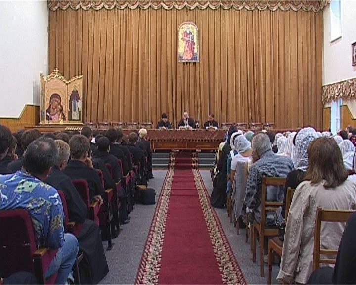 Встреча в Одесской духовной семинарии