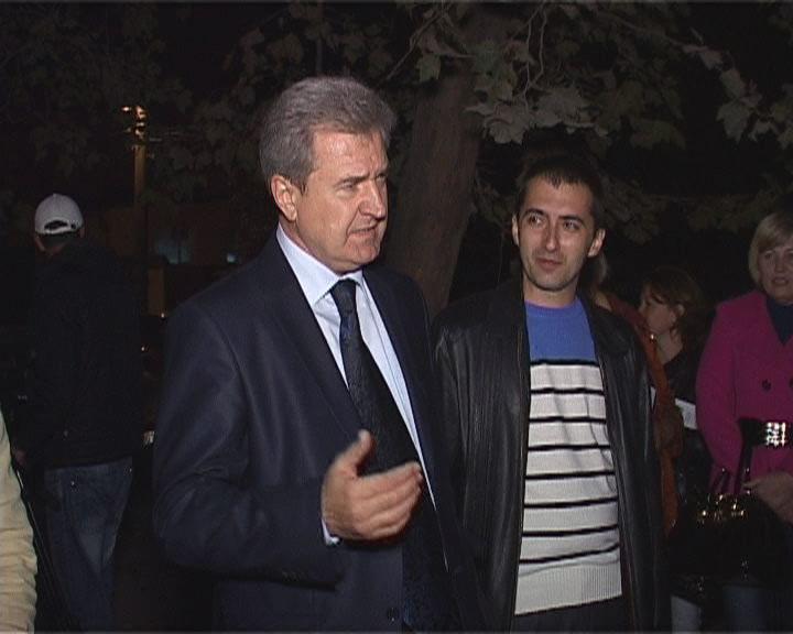 Встреча Сергея Гриневецкого с жителями поселка Сахарный