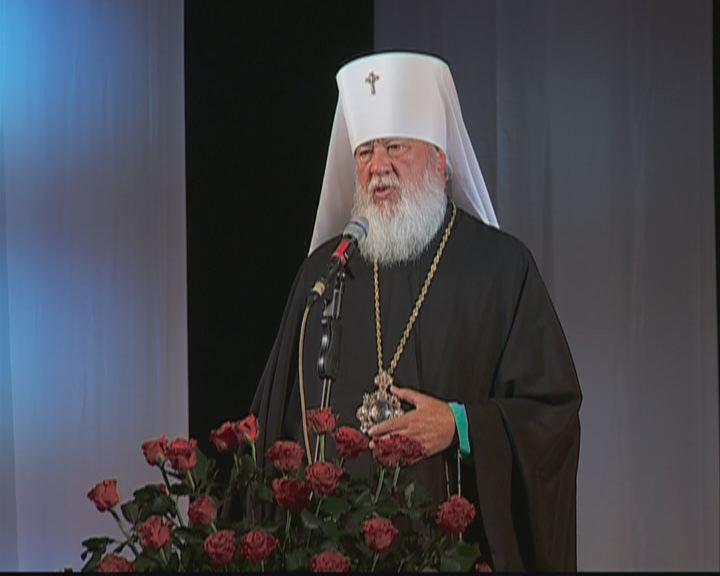 Торжественная академия по случаю 20-летия пребывания митрополита Агафангела на Одесской кафедре