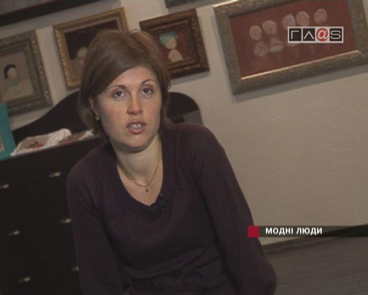 Евгения Гапчинская / Один день со звездой / 19 декабря 2006 года