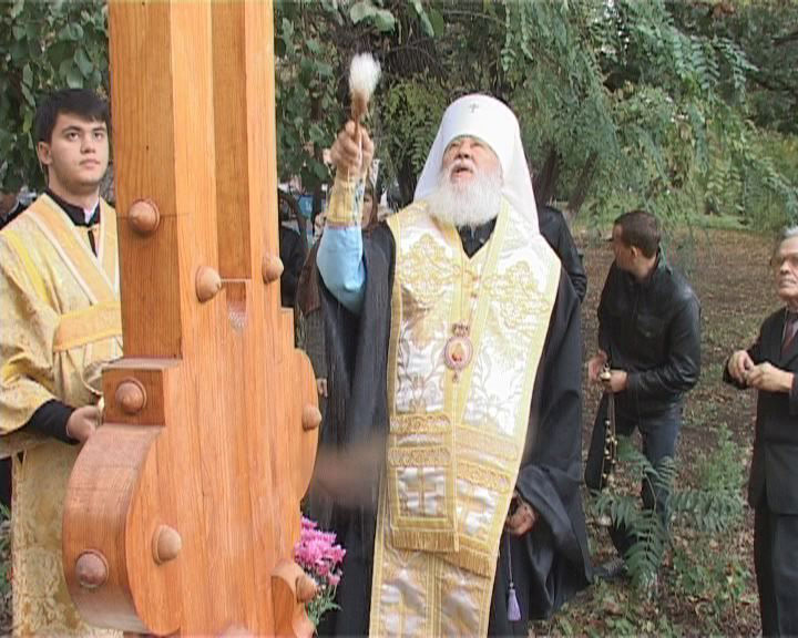 Поклонный крест – защита Черноморской улицы