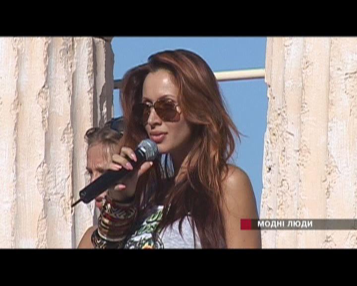 Светлана Лобода / один день со звездой / 20 июля 2005 года