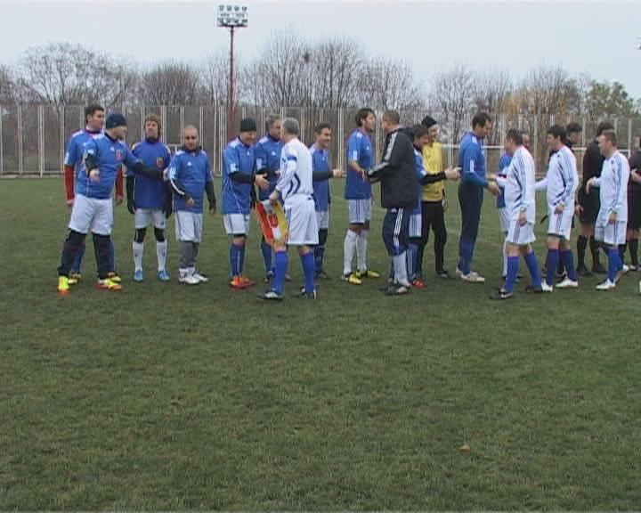 Товарищеский футбольный матч
