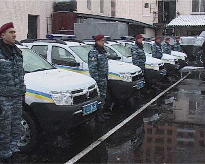 Пополнение автопарка милиции