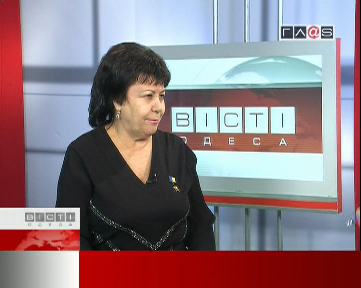 Гость в студии Вести Одесса Зинаида Гришко