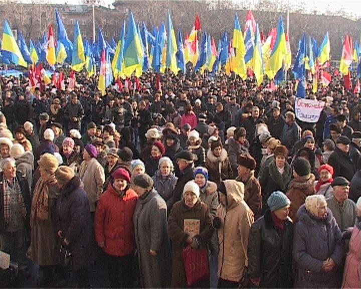 Антифашистский митинг в Одессе