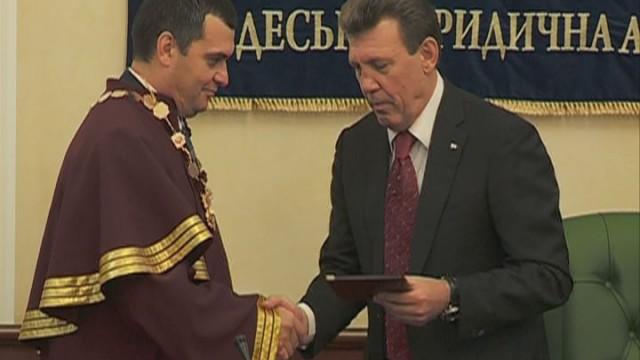 Глава МВД получил почетное ученое звание в Одессе