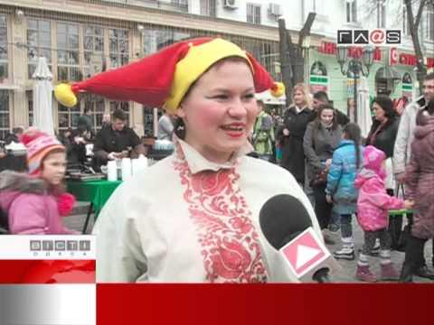 Весенняя ярмарка на Дерибасовской