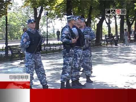 «Боевые действия» на Приморском бульваре