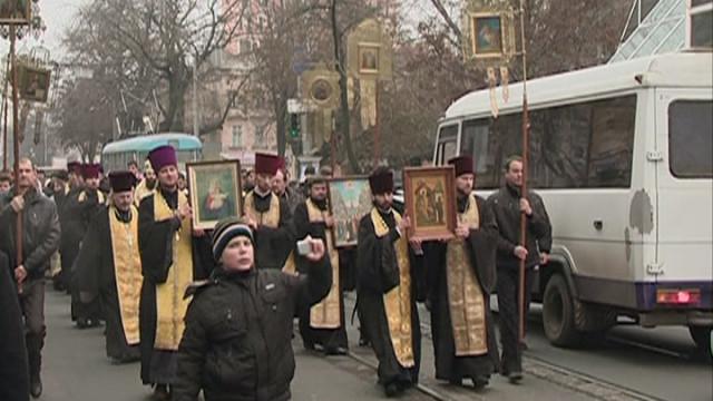 «Молитва за Украину» — крестный ход и молебен в Одессе