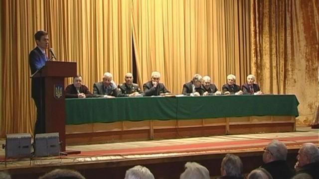 Обсуждение знаковых дат! Встреча ветеранов с городской властью.