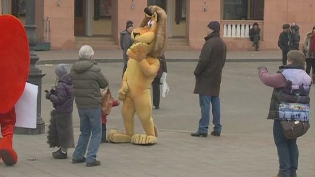 Cказочный Евромайдан в Одессе