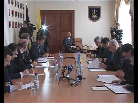 Посол Греции в Украине посетил Одессу